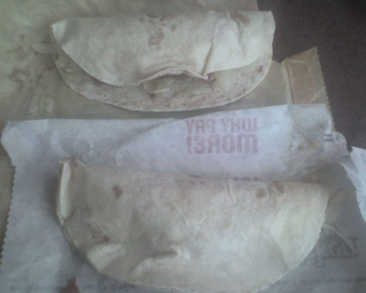 taco bell chicken tacos
