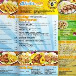 ono bbq menu