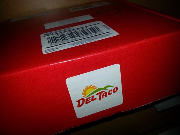 del taco box