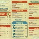 americas taco shop menu