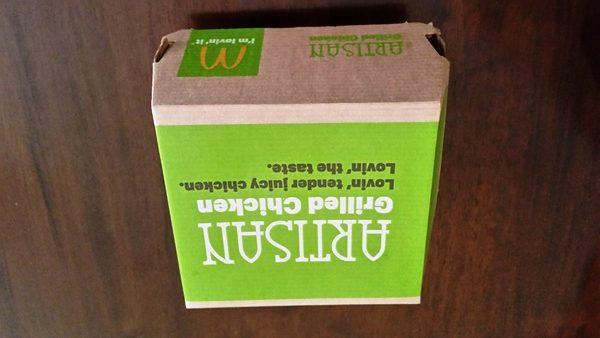 mcdonalds artisan grilled chicken sandwich