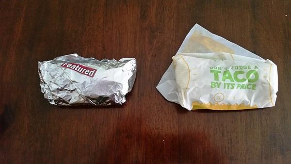 del taco salsa fresca and chicken soft taco compare