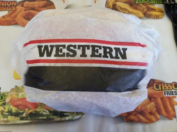 carls jr western bacon cheeseburger