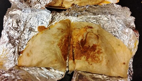 taco bell chicken quesadilla