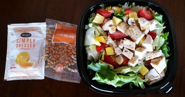 wendys strawberry mango salad