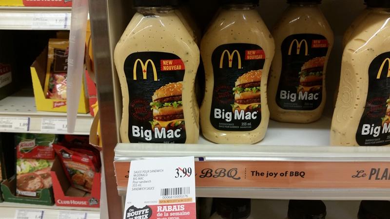 mcdonalds sauce