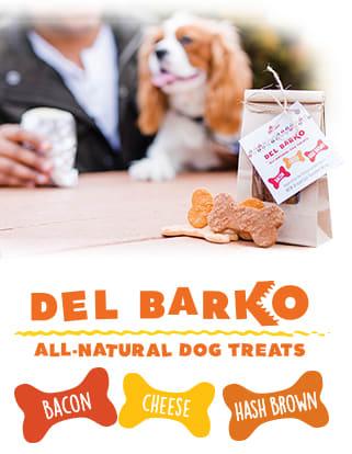 How Cute is Del Barko?!
