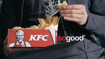 kfc so good food promo
