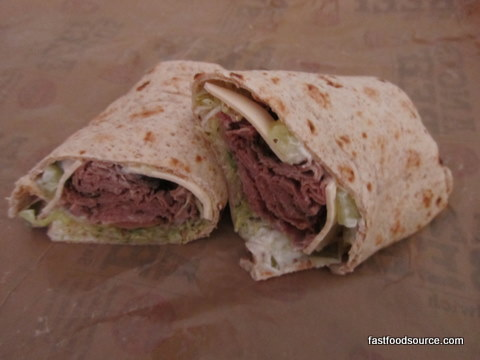 arbys angus cool wrap beauty