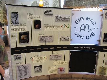 big mac museum display