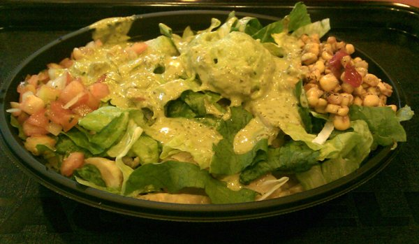 taco bell cantina bell chicken bowl