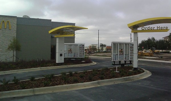 mcdonalds double drive thru
