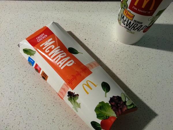 mcdonalds chicken mcwrap