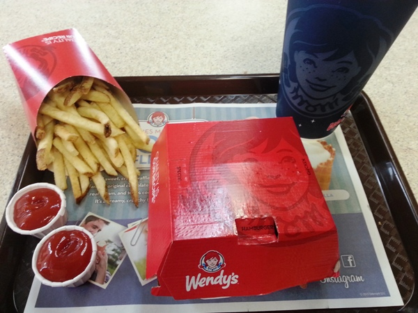 wendys pretzel bacon cheeseburger