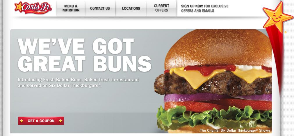 carls jr six dollar thickburger