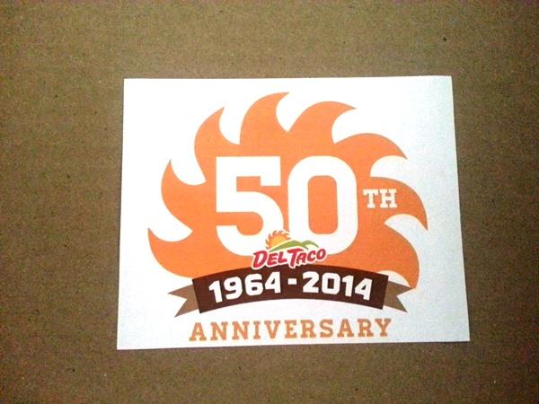 del taco 50th anniversary