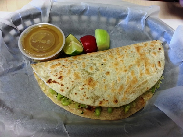americas taco shop chicken quesadilla