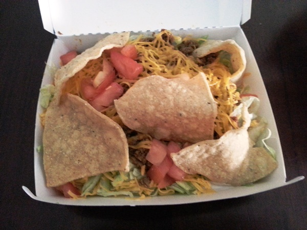 del taco small taco salad throwback