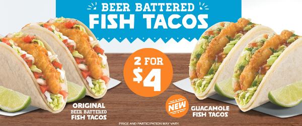 del taco fish tacos