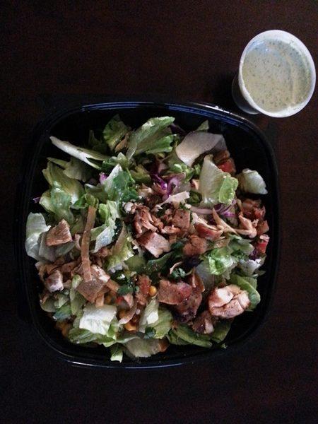 el pollo loco classic salad