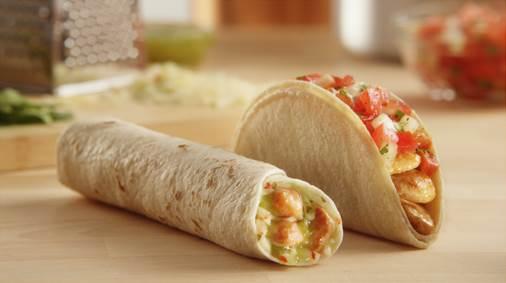 del taco chicken fresca and roller