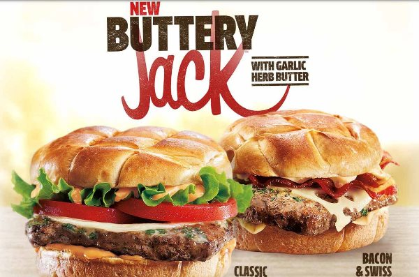 jack in the box buttery jack