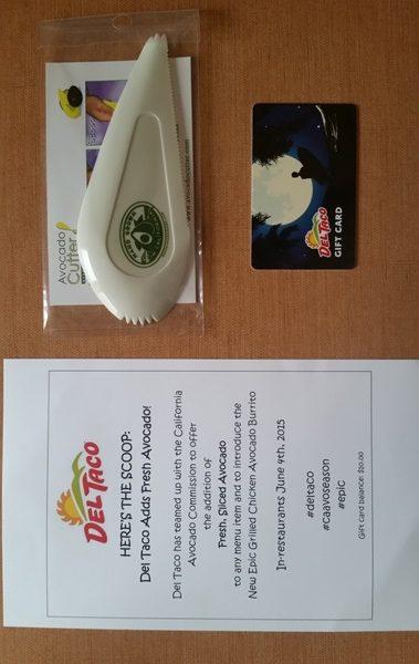 del taco avocado promo