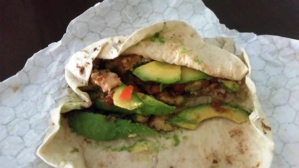 Epic Grilled Chicken Avocado Burrito